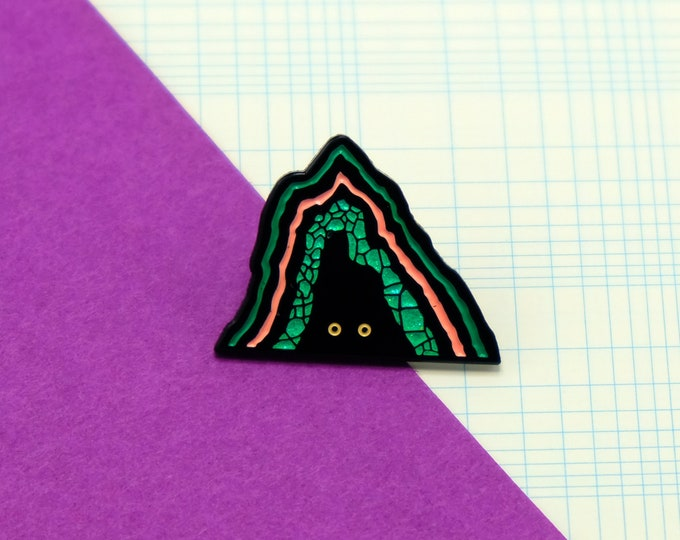 Mysterious Cave Pin by Ori Toor