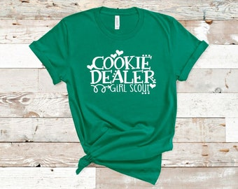 928ebc47 Women's Girl Scout COOKIE DEALER Tee T-Shirt Funny Humor Graphic Tee Plus  Size Avail 3x 3XL 4X 4XL