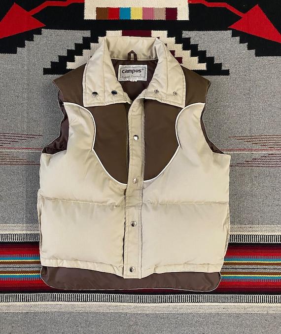 Campus Vintage 80s goose down vest size M