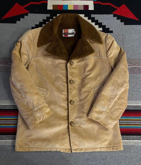 Vintage Reversible Light Tan Barn Jacket