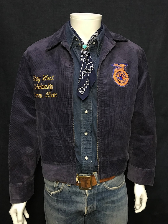 vintage Kentucky Mercer county FFA jacket size: 40