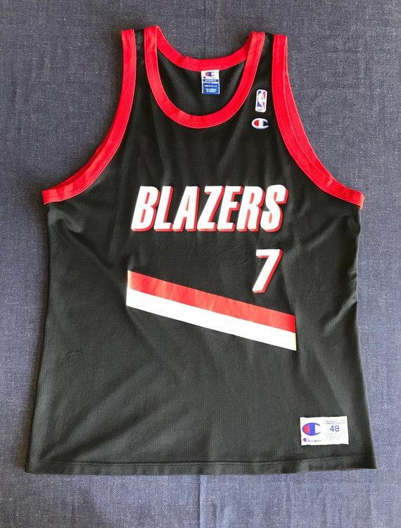 Vintage 90s Champion NBA Portland Trail Blazers #7