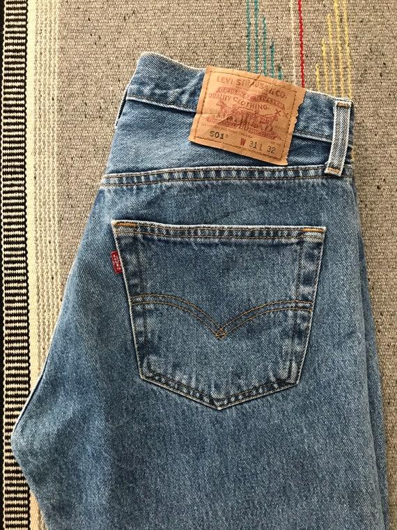 Vintage Levis 501 size 31x32