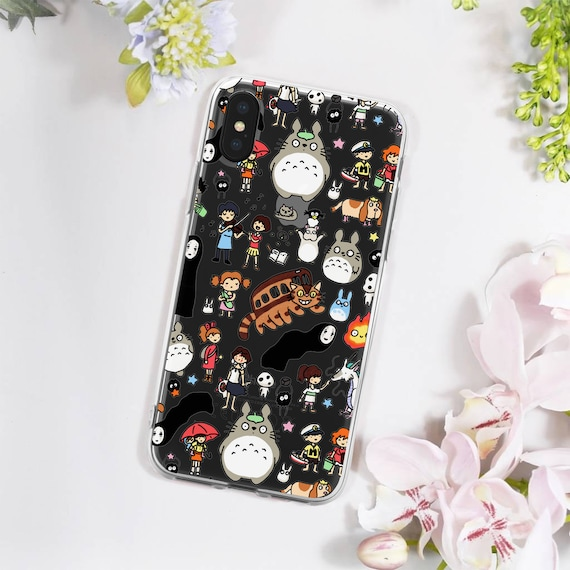 online store 8252c fb589 Studio Ghibli Clear iPhone X Case - Spirited Away iPhone Case - My Neighbor  Totoro iPhone Case - Clear iPhone 8 Case - iPhone 6/7/8/X/S/Plus