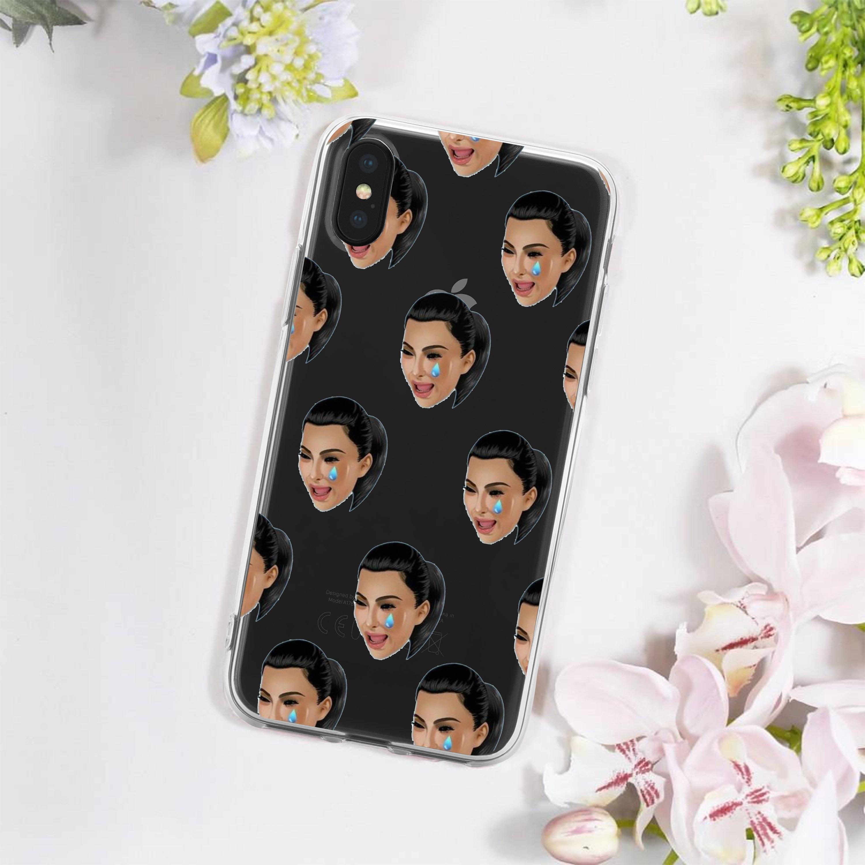 official photos 4ea11 ac2ed Kim Kardashian iPhone Case - Kim Kardashian Samsung Galaxy Case - Kim  Kardashian Merchandise - Kimoji iPhone Case - Kimoji - Kim Crying