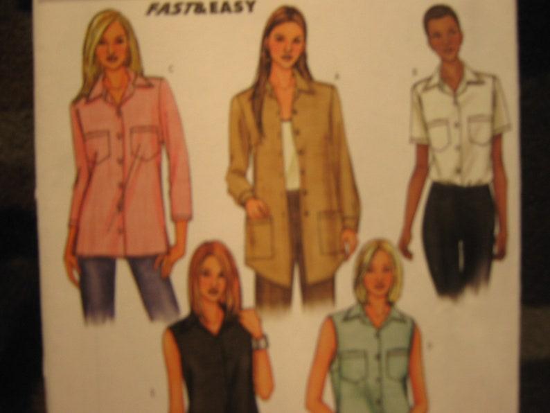 Misses/'  Women/'s TopShirt Pattern Butterick 3926  Plus Sizes 18-20-22 UNCUT