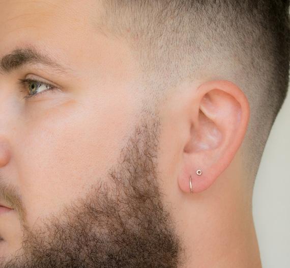 c598aedc6 SALE Mens Earrings Hoops Mens Earrings Set Mens Stud | Etsy