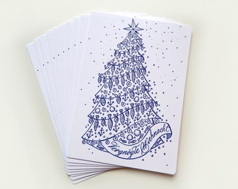 Plattdeutsche Christmas Postcards (10 pieces)