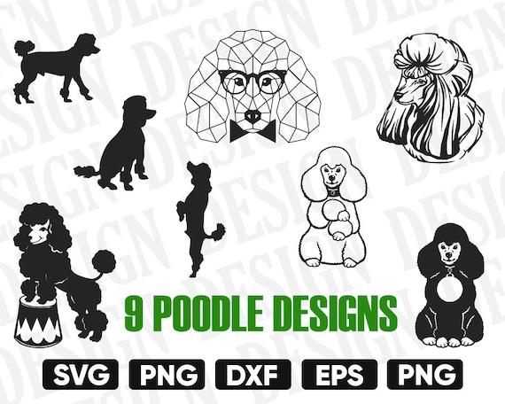 Poodle Svg Bundle Dog Svg Poodle Silhouette Poodle Clipart Etsy