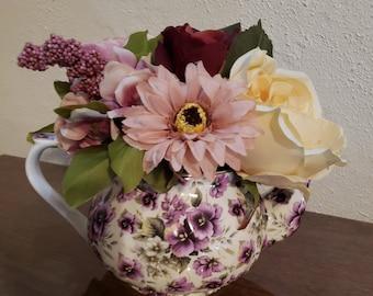 3d5d67bcfcb Floral Teapot Centerpiece