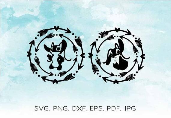Stitch Svg Lilo And Stitch Svg Disney Svg Stitch Silhouette Etsy