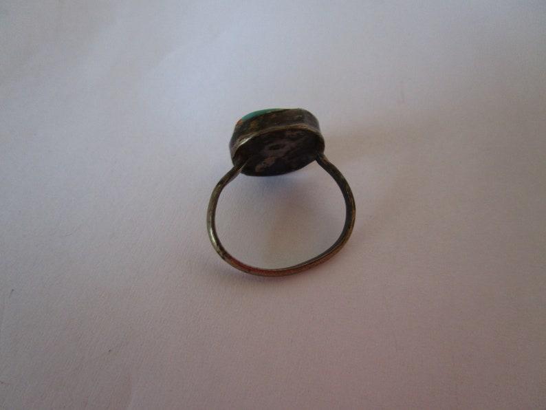 Zuni Native American Eye of God Ring  7 12 /& 7 34
