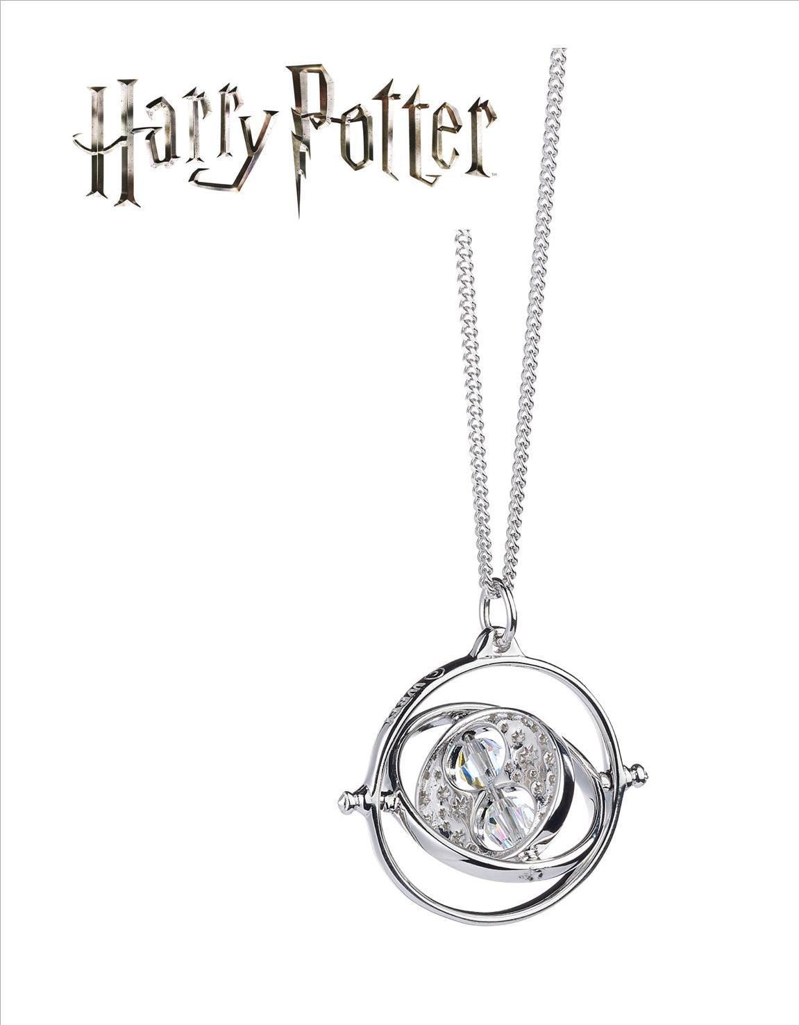 Official Harry Potter Time Turner Necklace with Swarovski® Crystal Elements
