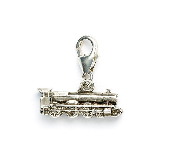 Harry Potter Sterling Silver Hogwarts Express Train Necklace