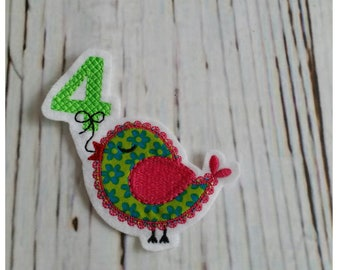 Bird Application Patch Number Number 4