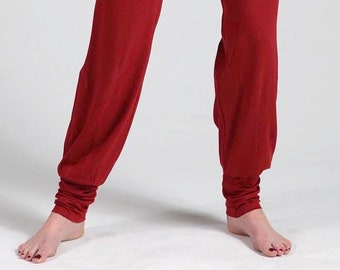 Yoga, wellness pants red