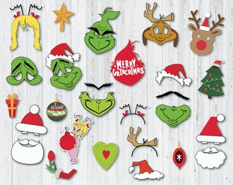 photo relating to Grinch Printable referred to as Xmas grinch Etsy