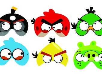 Pigs Angry Bird Etsy