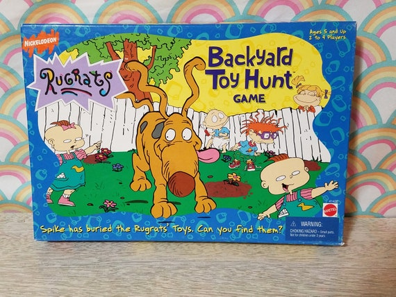 Backyard Nickelodeon vintage rugrats backyard toy hunt game | etsy