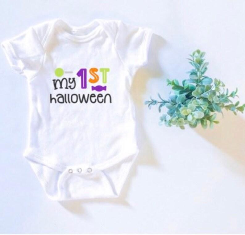 Babys First Hallloween Outfits Baby Halloween Set; Halloween Baby Bodysuits