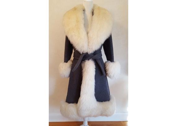 Rare Vintage 60's Lilli Ann Wool Princess Coat, Gr