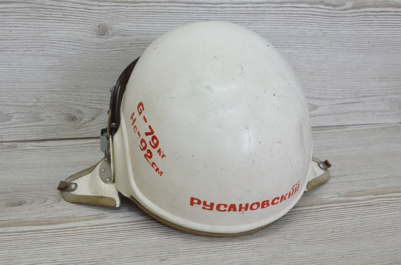 Protective Helmet ZSh - 3M USSR Air Force,russian antiques