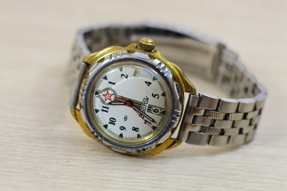 Men's wrist watch Vostok, 1990s vintage watches