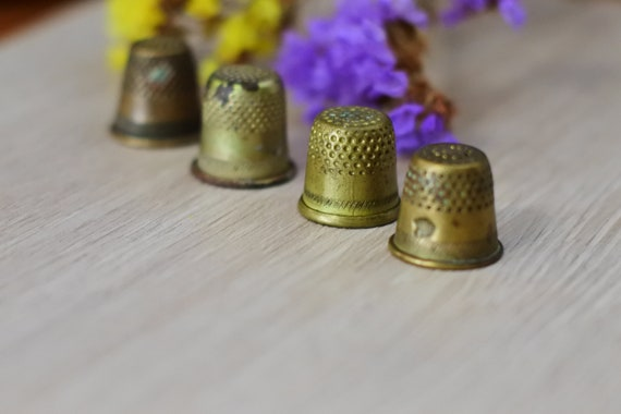 sewing accessories,metal thimbles Retro thimbles of the USSR