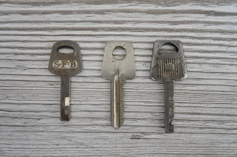 a dozen keys metal key Retro keys Soviet key lock key Vintage keys
