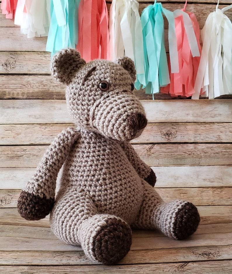 Brown Bear Bear Plushie Stuffed Bear Teddy Bear Soft Teddy Bear Handmade Teddy Bear