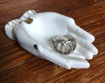 Spring Into Action Sterling Silver Ring  Size 5.5