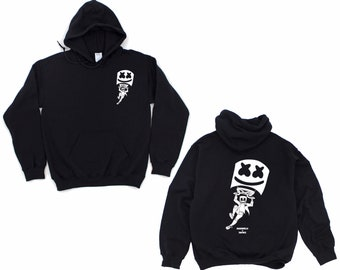 e953104c3 Fortnite x Marshmello Youth Hoodie Front&Back