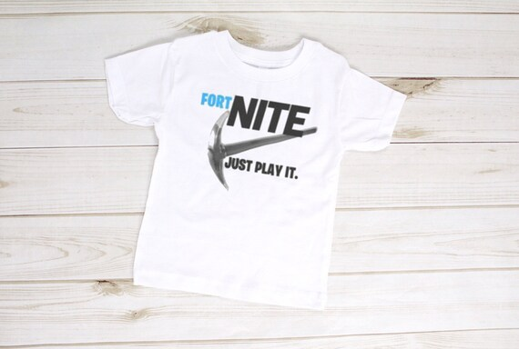 52fd919e0 Fortnite Nike Youth Short Sleeve T-Shirt | Etsy