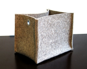 """FILZ Utensilo """"SOFT"""" Box 22x15x17 in natural / color"""