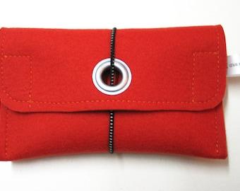 Felt ETUI 100%Wool for Navi & Co-17 x 10 cm *Eco*