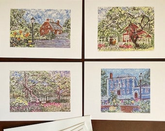 the Portsmouth note card set
