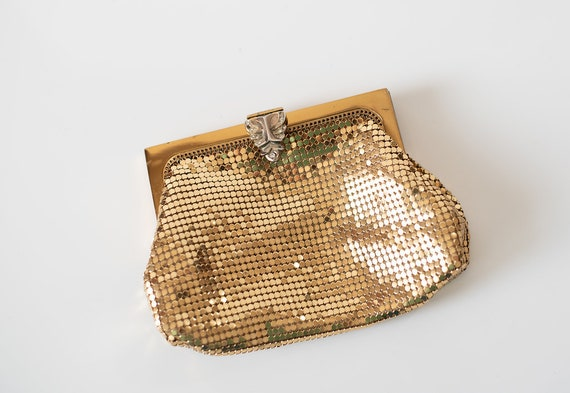 Vintage Whiting & Davis Mesh Metal Purse / Handbag
