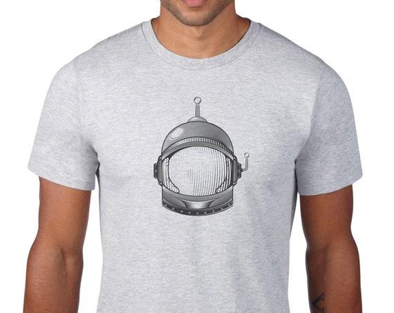 Spaceman T-shirt - hand silkscreened