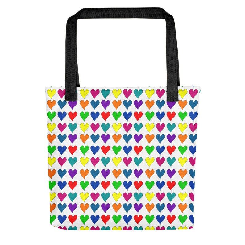 Sweet Hearts Stylish Tote Bag