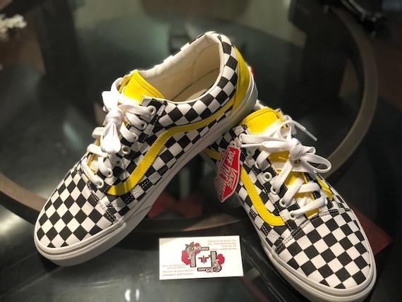Vans Shoes Checker Vans | Etsy