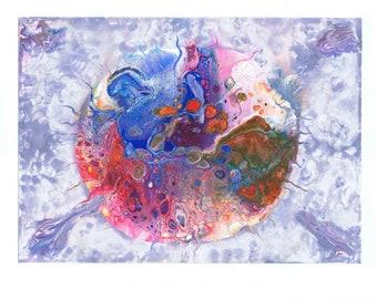 Malerei abstraktes bild kunst etsy