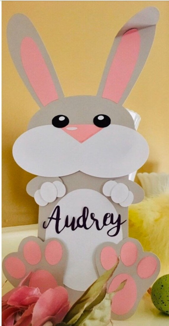 Personalised Easter Card Gift Money Holder