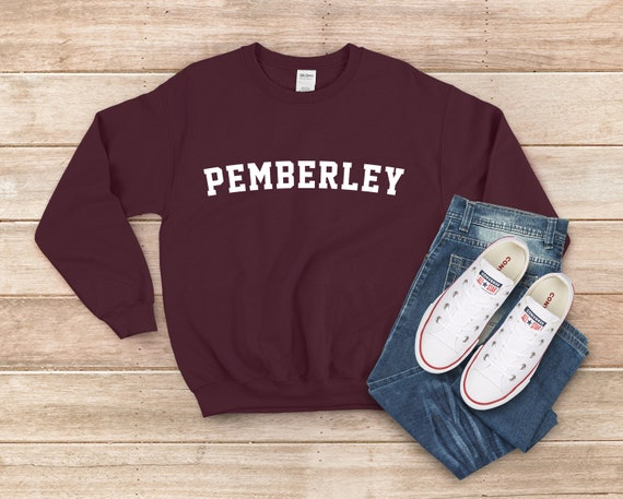 Jane Austen Sweatshirt Pride and Prejudice Pemberley Shirt
