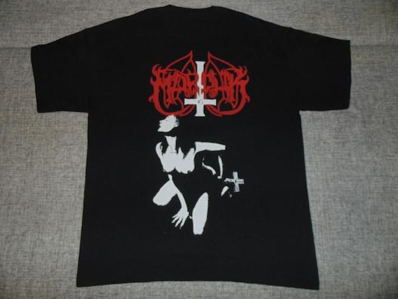 Marduk Fuck Me Jesus shirt XL '90 rare vintage bla