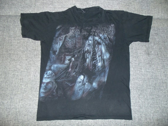Cradle Of Filth Total Fucking Darkness shirt M-L 2