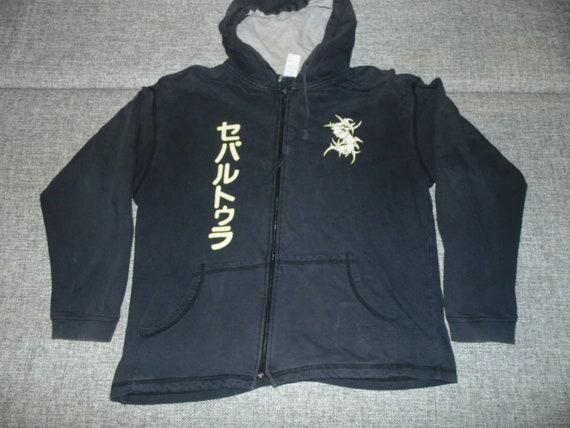 Sepultura hoodie japan XL 1997