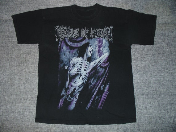 Cradle Of Filth Total Fucking Darkness shirt M 200