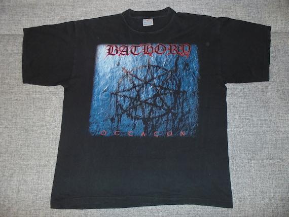Bathory Octagon shirt XL 2001 rare vintage black m
