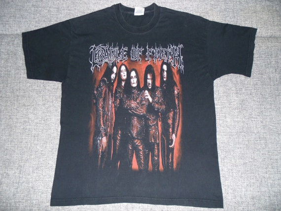 Cradle Of Filth Damnation Every Day shirt XL 2003
