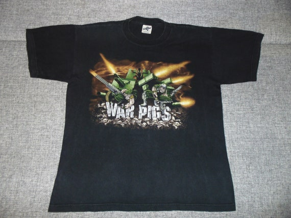 Black Sabbath – War Pigs shirt XL '90 rare vintage